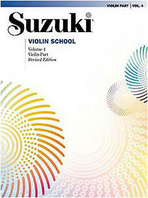 Suzuki Violin School Revised Ed Violin Part Book Vol 4