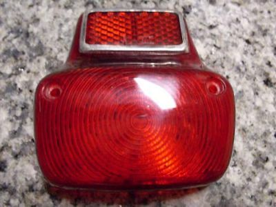Vespa tail light taillight lens small frame 50 90 100 primavera V8039