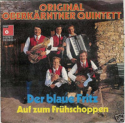 Single Original Oberkärntner Quintett - Der blaue Fritz