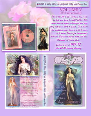 lady DVD  LEARN TO SCULPT by Patricia Rose