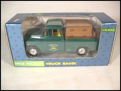 1955 Pickup Midland Implement Ertl John Deere #105 Bank