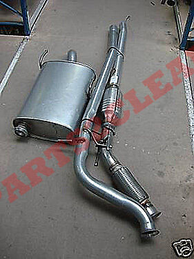 Peugeot 406 2.0Hdi 90Bhp Catalytic Convertor Full Exhaust System Saloon Estate