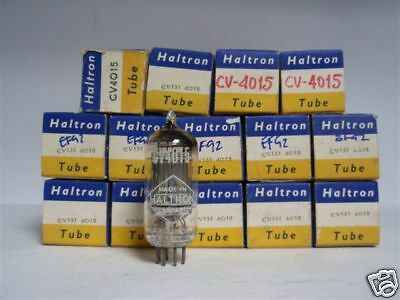 Cv4015 Tube. Ef92 Tube. Mixed Brands. 1 Pc. Nos / Nib. Rc92