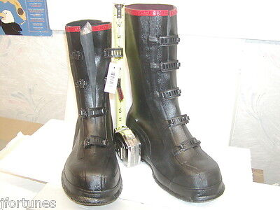Servus/Ranger  Four (4) and Five (5) Buckle Heavy Duty Galoshes (overshoes)
