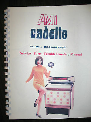 AMI ROWE CMM-1 CADETTE Jukebox Manual  284 pages