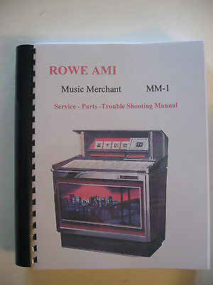Rowe AMI MM 1 Jukebox Manual