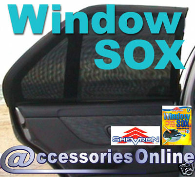 SHEVRON WINDOW SOX CAR SUN SHADES : Socks ALL MODELS