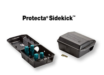 Protecta Sidekick Rat Mice mouse Control Bait Station 6 Tamper Proof Boxes