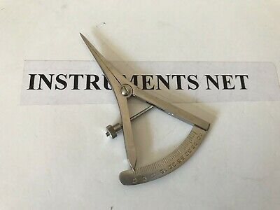 "Castroviejo Calipers 3.5"" Dental Surgical Instruments"