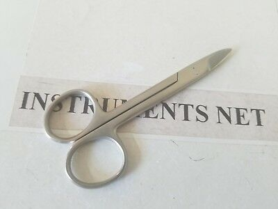 6 CROWN Scissors Straight Dental Surgical Instruments