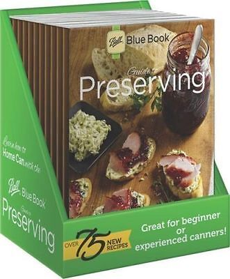 NEW!! BALL BLUE BOOK CANNING PRESERVING COOKING GUIDE GREAT SALE FREE SHIPPING