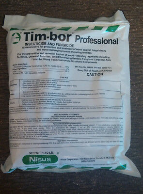5 Timbor Insecticide Fungicide Wood Preservative 7.5 LB