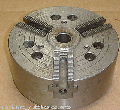 "8"" Howa CNC 3 Jaw Power Lathe Chuck H01MA8 A6 _ HO1MA8 _ 1"" Center Hole"