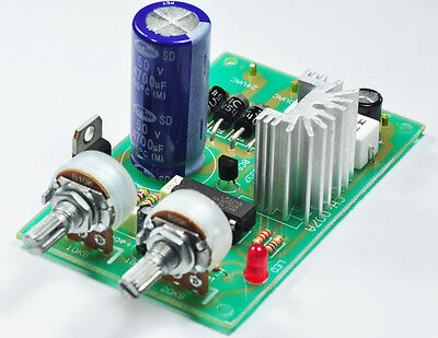 Regulator Power Supply Module AC-DC 0-30VDC Current Limit 1-2A for student lab