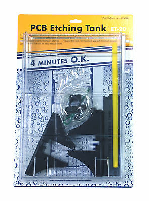 1pc PCB Etching Tank Kit 2L without Agitator or Heater Kinsten Taiwan