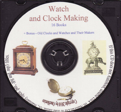 Watch and Clock Making - 16 Books