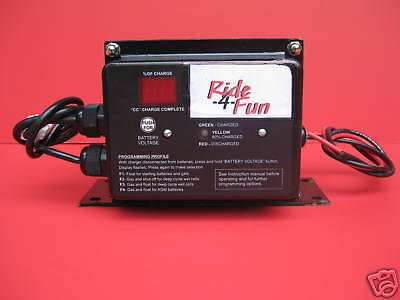 Gem Car Upgrade Replacement Charger With 72 Volt Output