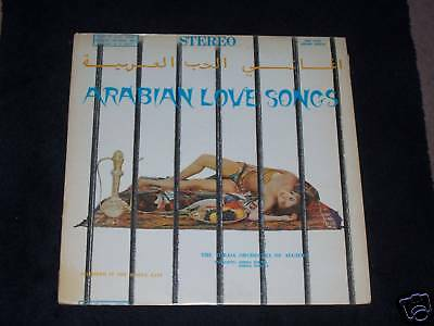 TORAIA Orchestra of Algier - Arabien Love Songs, LP ! !