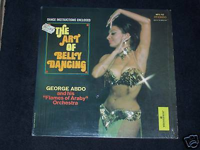 George ABDO & Orchestra - The Art of Belly Dancing , LP