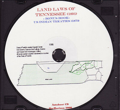 The Land Laws of Tennessee - TN History