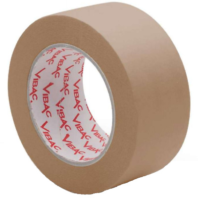 6 Rolls Self Adhesive Kraft Paper Tape 50m x 50mm 60gm