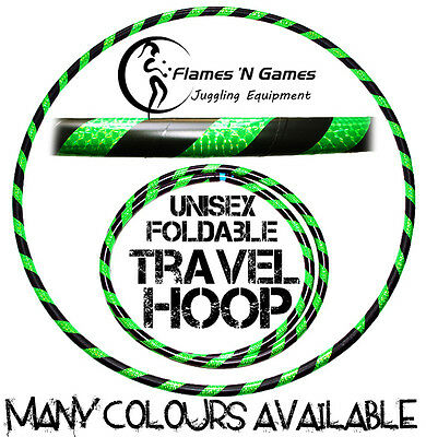 Dance Hula Hoop / Weighted Fitness Hoops BL & UV Green!