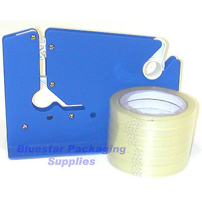 Metal Bag Neck Sealer & 6 Clear 12mm Tape