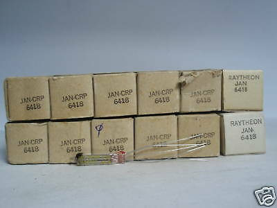 6418 Tube. Jan Tube. Mixed Brands. Nos / Nib 1Pc. Rc178