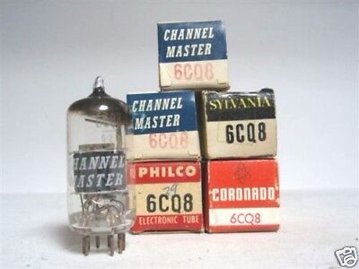6Cq8 Tube. Mixed Brands. Nos /nib. 1 Pc. Rcb282