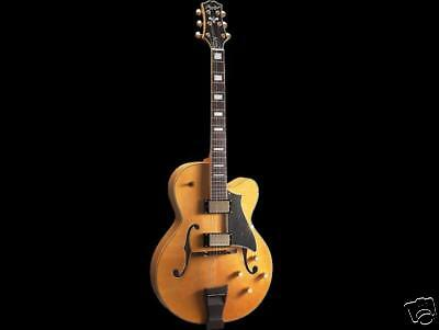 Peerless'' Journeyman Top Jazz Guitar New In Org Case