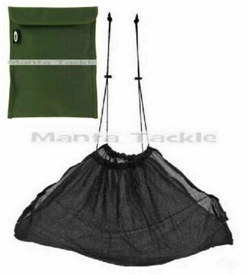 NEW Weigh Sling Fishing Carp Black Deluxe Soft Mesh WEIGHSLING Weighing Net