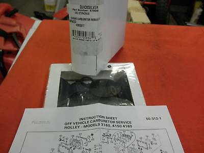 Quicksilver 879065 Carb Kit Holley 31260 4150 4160