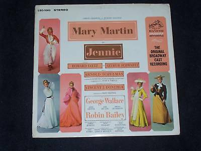 Musical - JENNIE, Mary MARTIN / 1963 DYNAGROOVE US - LP