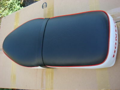 Honda long seat saddle White Black COVER C50 C100 C102 CA102 Supercub 50 H2233