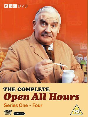 OPEN ALL HOURS 1-4 1976-1985: COMPLETE Ron Barker Comedy TV Series R2 DVD not US