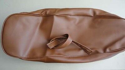 Vespa TAN seat saddle COVER 50 90 100 110 Small frame Primavera V8181