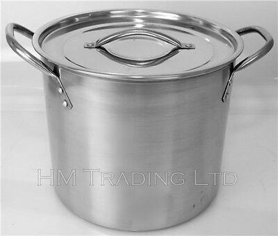 8.2 Litre Stainless Steel Stock Soup Stew pot Cooking Capacity Casserole NEW