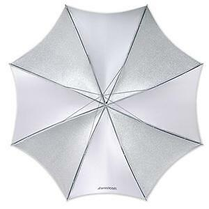 Westcott Collapsible Reflective Silver Umbrella 2002