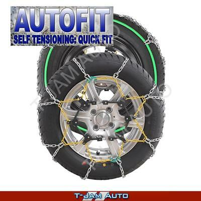 Snow Chains 14 15 16 17 Inch Wheels Tyres Group 90 New