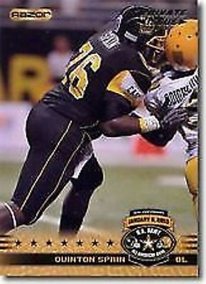 (12) QUINTON SPAIN 2010 U.S. Army All American Bowl LOT