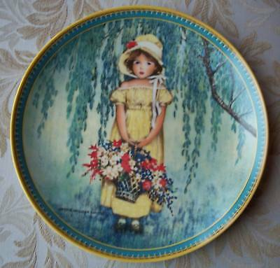 EASTER Jessie W Smith CHILDHOOD HOLIDAY MEMORIES Plate