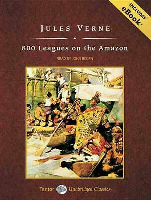 800 Leagues on the Amazon by Jules Verne Compact Disc Book (English)