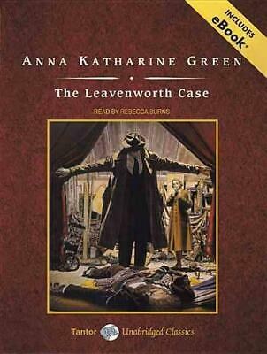 The Leavenworth Case by Anna Katharine Green Compact Disc Book (English)