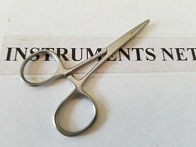 """2 Hemostat Mosquito Forceps 3.5"""" Surgical Dental Inst (Straight)"""
