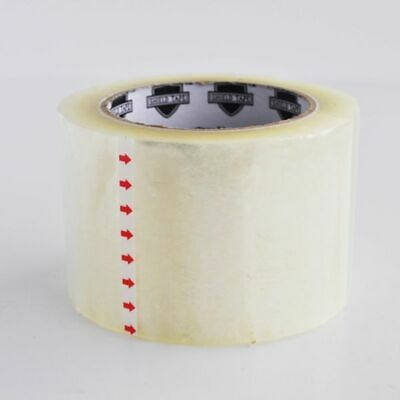 Clear Box Carton Sealing Packaging Tapes 3 Inch 110 Yards 12 Rolls 1.8 Mil
