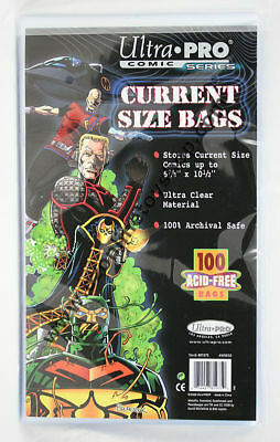 Ultra PRO 100 Current Size Comic Book Bags