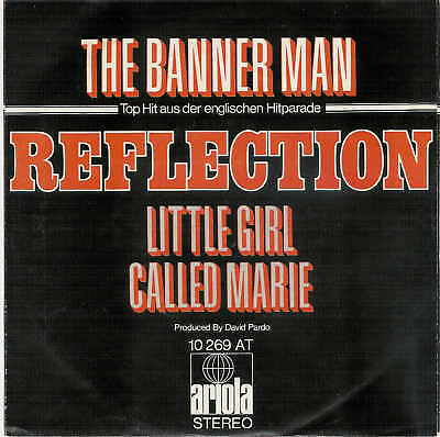 REFLECTION - The Banner / Rare 7'' ARIOLA - Single ! !