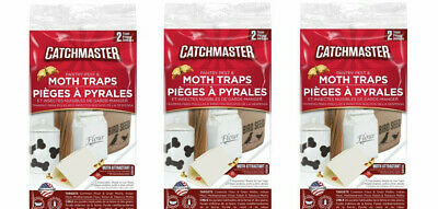 8 Food & Pantry Birdseed Flour Meal Moth Control Traps