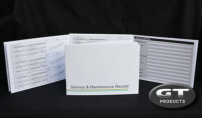 Suzuki Service History Book & Maintenance Record Log