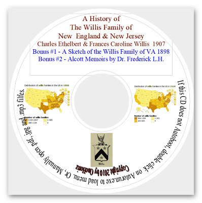 Willis Family of New England and New Jersey - Genealogy